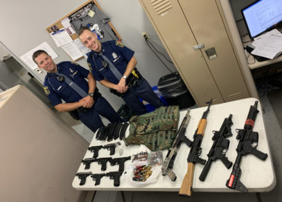 five-arrested,-mass-of-weapons-&-ammo-seized-in-bh-traffic-stop
